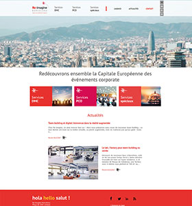 Site Re-imagine Barcelona